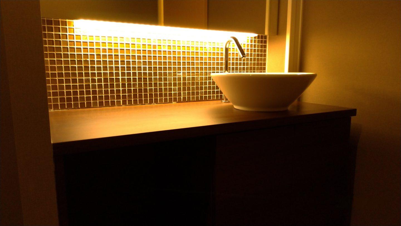 シングル手洗い洗面のオーダー製作