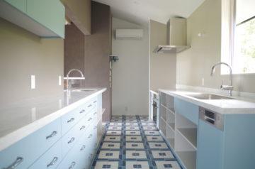 オーダーキッチンとキッチンリフォームの施工会社の画像