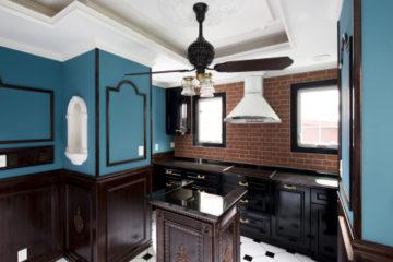 家族でお手伝いのできるキッチン | オーダーキッチン ワイズキッチンファクトリーの画像