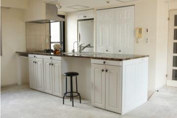オープンLDKの主役はアイランドキッチン | オーダーキッチン ワイズキッチンファクトリーの画像
