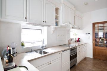 チェリーを使用したナチュラルキッチン | オーダーキッチン ワイズキッチンファクトリーの画像