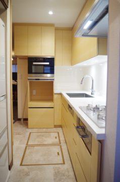 メープル材のオーダーキッチン。。。 | ワイズキッチンファクトリーの画像